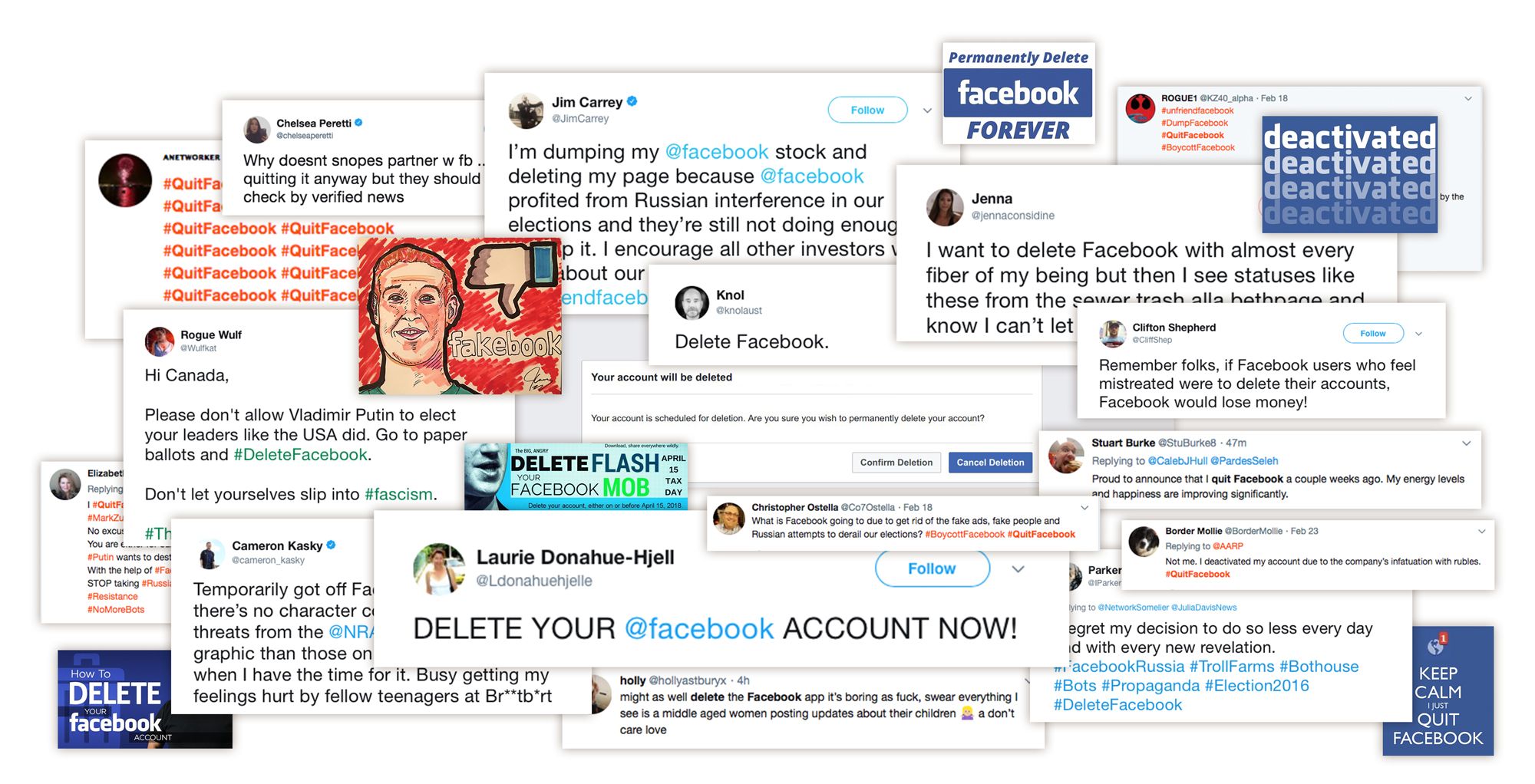 The people leaving facebook say its not just politics digital in fact facebook tried to implement new fact checking measures last year by teaming with politifact and factcheck to vet news and apply disputed ccuart Images