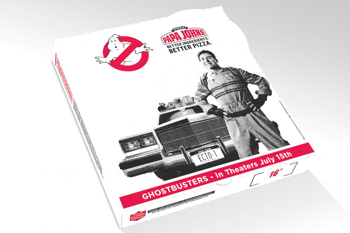 Papa John\'s Founder Becomes a Ghostbuster in New Campaign | CMO ...
