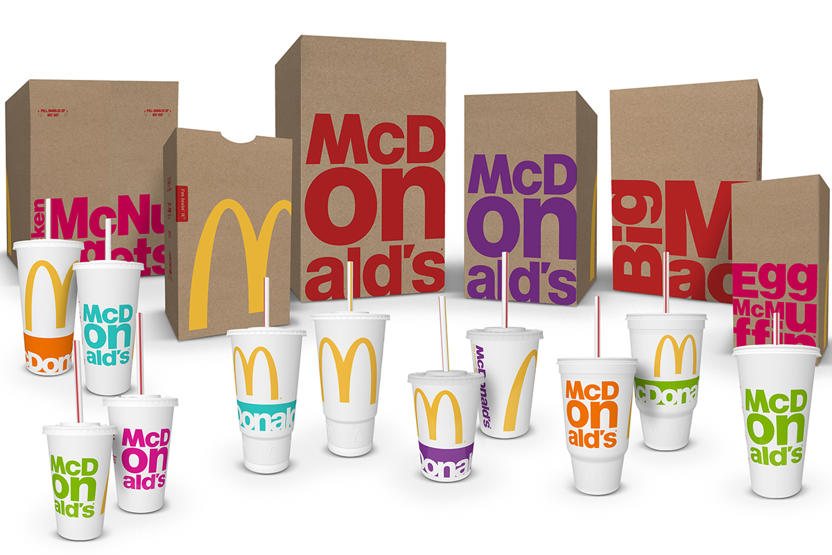 mcdonald s packaging gets a colorful makeover cmo strategy ad age