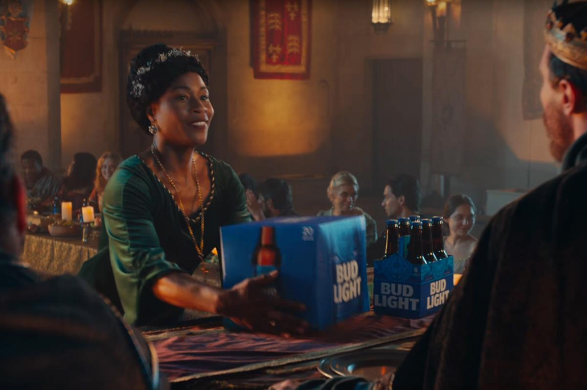 Bud light goes for laughs in ad evoking game of thrones cmo bud light goes for laughs in ad evoking game of thrones cmo strategy ad age aloadofball Choice Image