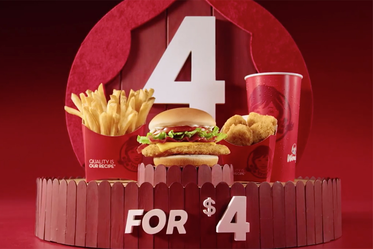 wendy s plays on monday s date by adding item to 4 for 4 cmo