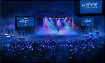 Bud Light Hotel Concert