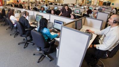 The Tempe center processes 1.1 million calls each month.
