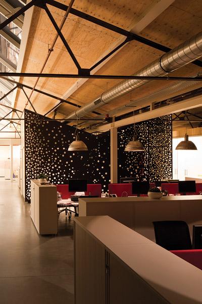 Inside Red Bull's Amsterdam headquarters.