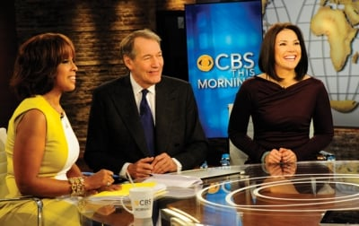 'CBS This Morning' hosts (from left) Gayle King, Charlie Rose and Erica Hill