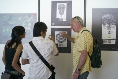 Another look at the exhibition of campaigning and social responsibility work.