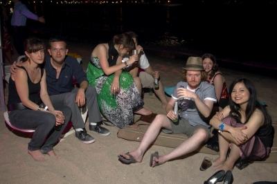 La Nuit Publicis, beach party.