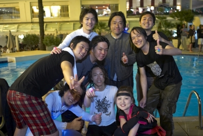 More happy folks at the Hakuhodo party.