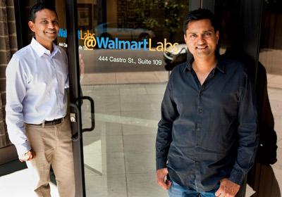 Venky Harinarayan and Ananad Rajaraman of @WalmartLabs.