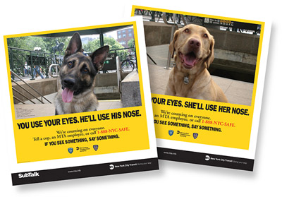 SPEAK: The MTA's PSA campaign is being licensed throughout the world.