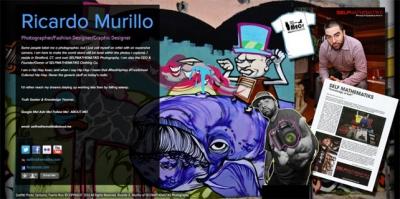 Artist Ricardo Murillo on About.me