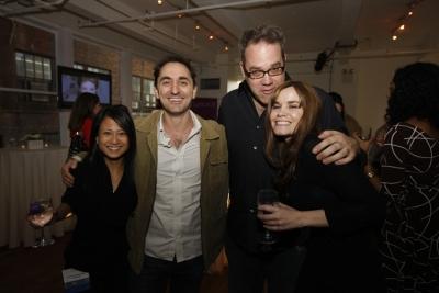 Ann-Christine Diaz, Creativity; David Droga, Droga5 ECD Ted Royer and Teressa Iezzi