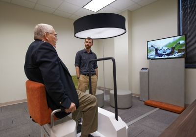 Vita Care is developing therapeutic motion simulation systems.