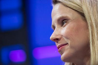 Marissa Mayer, president and chief executive officer of Yahoo.