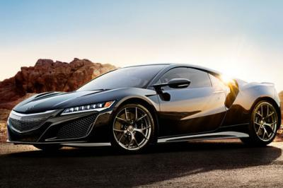 The Acura NSX, the yet-to-ship supercar featured in Acura's last Super Bowl ad in 2012