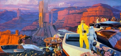 Illustration by Syd Mead.