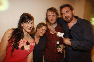 Stephanie Hodge, Sarah Amiel, Reprizent; Vice's John Martin, and Martin Agency producer Chad Garber