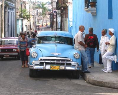 1930s era Chrysler in Cuba.