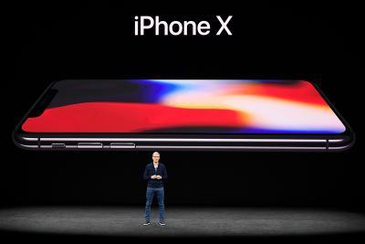Tim Cook speaks about the iPhone X.