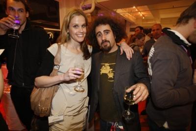 Naked Communications' Nancy King and Faris Yakob