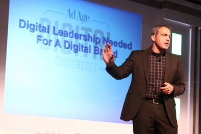 Bob Kupbens at the Ad Age Digital Conference last year.