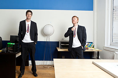 Jordy Leiser and John Ernsberger are attracting the business of heavy-hitters such as Zappos and Diapers.com.