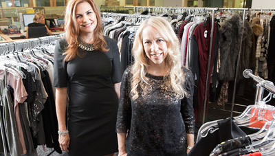 EYES OPEN: Publisher Karin Tracy (l.) and Editor Susan Kaufman are happy that People StyleWatch doesn't look like other fashion magazines, and advertisers seem pleased as well.