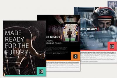 Print ads from 'Ahead of Tomorrow' campaign