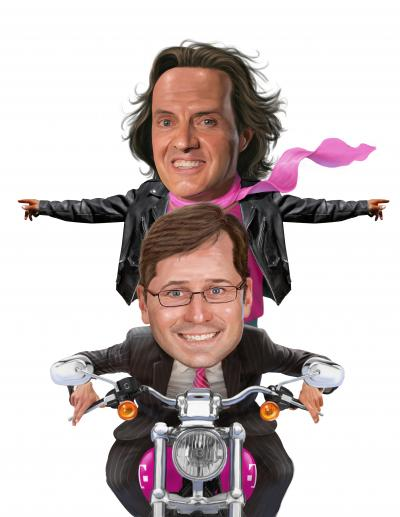 CEO John Legere, above, and CMO Mike Sievert are driving T-Mobile's mutinous marketing machine.