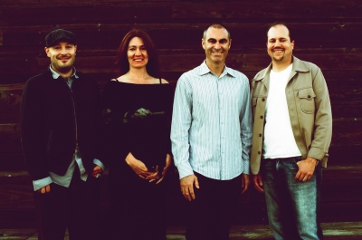 From left: Arcade partners Geoff Hounsell, Kim Bica, Damian Stevens and Paul Martinez