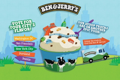 The 360i team used data to pick Ben & Jerry's flavors.