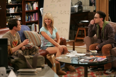 The series premiere of 'The Big Bang Theory' in 2007. Broadcast reruns are big business for cable.