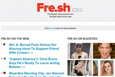 Mindshare has exclusive access to BuzzFeed Fre.sh.
