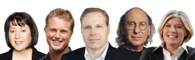 Ogilvy Red's Hendra, Rosetta's Adamski, GroupM's Simon, R/GA's Greenberg and SMG's Desmond