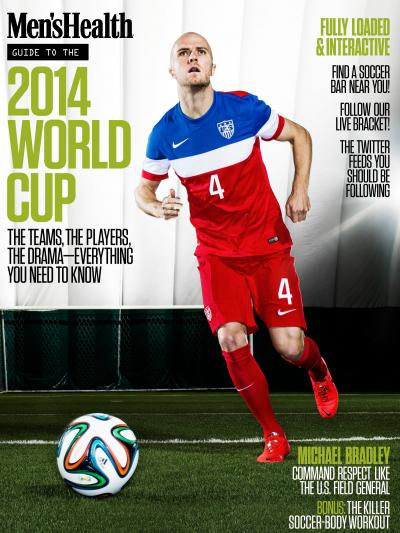 Men's Health put out a special digital edition about the World Cup.