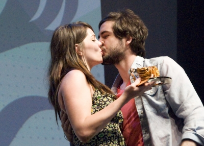 Had they kissed before this? That's what Cannes goers were wondering.