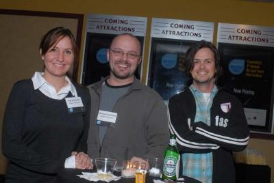 Amy Mastin Noll and Michael Crutchfield from Saatchi & Saatchi and friend (photo: Elena Olivo)