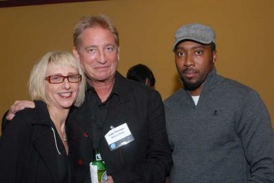 Roe Bressan, Believe Media's Luke Thornton and director Maurice Marable (photo: Elena Olivo)