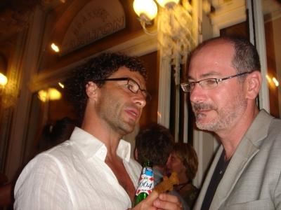 Bergman introduces his friend to BBDO's Brian DiLorenzo, aka DiLo