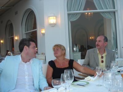 Mark Darcy, Charlotte and Brian DiLorenzo