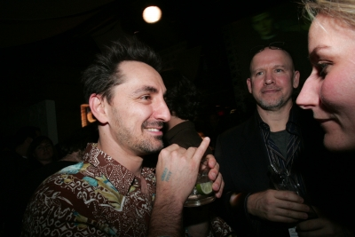 David Droga, Droga5; Richard Corman, Stockland Martel