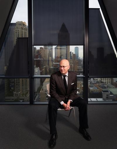 David Granger at Hearst Tower