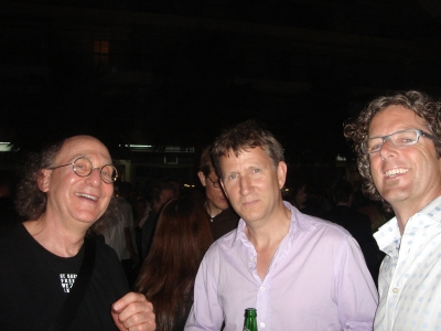 R/GA's Bob Greenberg, Rothwell of Gorgeous and David Wagner