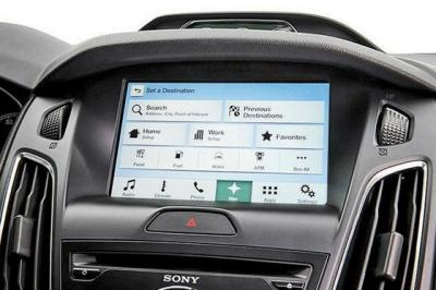 Ford's Sync 3 infotainment system uses the same size touch screen as MyFord Touch but operates more like smartphones and tablets.