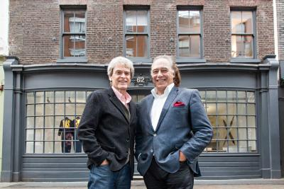 John Hegarty and Tom Teichman