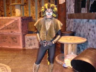 Gerry Graf as Rum Tum Tugger in 'Cats'