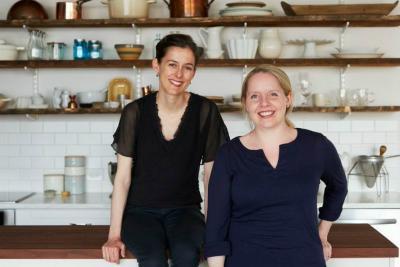 Food52 co-founders Amanda Hesser and Merrill Stubbs