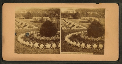 Hunnewell's Italian Garden, Wellesly, MA.