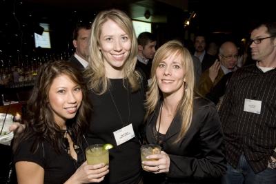 Saatchi & Saatchi art director Lea Cadera, copywriter Sara Rose and executive producer Dani Stoller