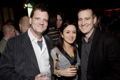 SpotWelders editor Dick Gordon, Station Film's Nicole Sciarrillo and @radical.media executive producer Jim Bouvet